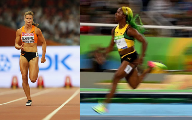 Shelly ann fraser pryce faces dafne schippers in 100m semi final at shelly ann fraser pryce faces dafne schippers in 100m semi final altavistaventures Image collections