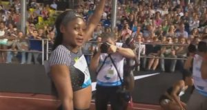 Elaine Thompson Wins 100m at Lausanne Diamond League Meet
