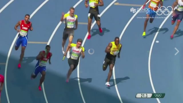 Watch Jamaica Qualify for Men's 4x 100m Relay Final at Rio Olympics