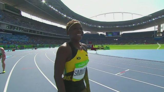 Megan Simmonds 2nd in Heat 6: Women's 100m Hurdles at Rio Olympics