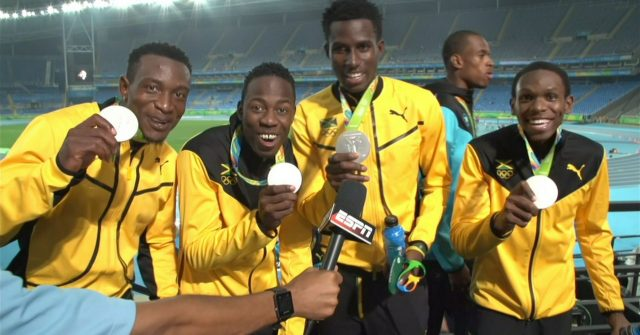 Congrats to Jamaica's Men's 4x400m Relay Team: Silver Medalist
