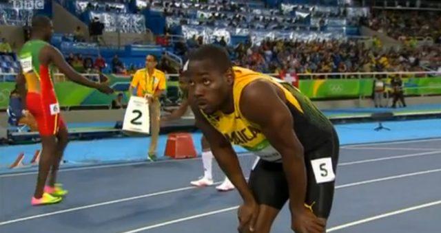 Rusheen McDonald Heat 6 of Men's 400m at Rio 2016 Olympics