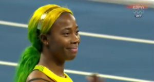 Shelly-Ann Fraser-Pryce Wins Heat 4 of Women's 100m at Rio 2016 Olympics