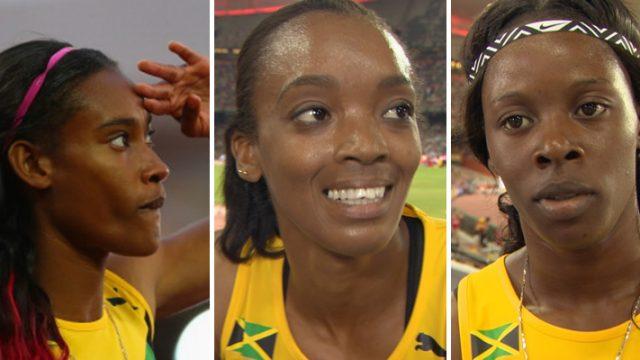 Shericka, Christine, Stephenie-Ann Advance to Women's 400m Semi-finals