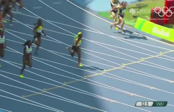 Watch Jamaica Win Women's 4x100m Relay Heat at Rio Olympics