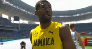 Annsert Whyte Wins Heat 5 of Men's 400m at Rio Olympics