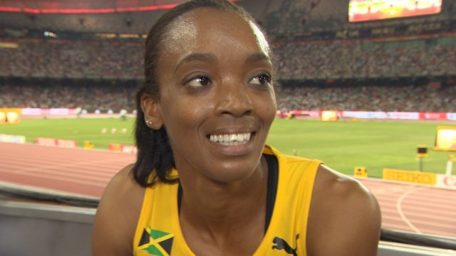 Christine Day Wins Heat 8 of Women's 400m at Rio Olympics
