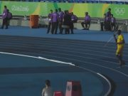 Usain Bolt Throws Javelin at Rio Olympic Stadium