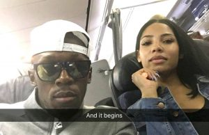 Usain Bolt + GF Kasi Jets off for Much-Needed Vacation