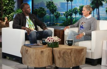 Usain Bolt Talks Rio and Marriage on The Ellen Show