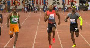 Asafa Powell Wins 100m Diamond Race at Zurich Diamond League