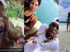 Usain Bolt and Kasi Bennett Enjoying Vacation in Bora Bora