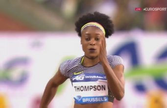 Elaine Thompson Wins 100m Diamond League Trophy in Belgium