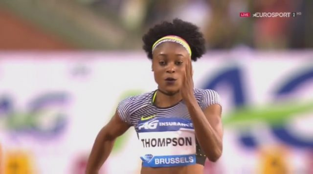 Elaine Thompson Wins 100m Diamond League Trophy in Belgium