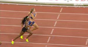 Elaine Thomspon Sets New 200m Record at Zurich Diamond League