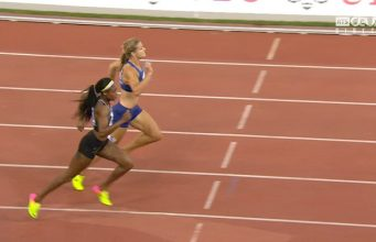 Elaine Thomspon Sets New 200m Record at Zurich Diamond League