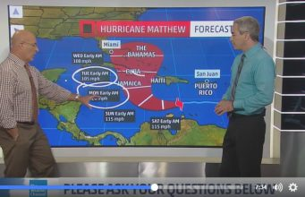 Hurricane Matthew Nearing Category 3 Strength, Threatens Jamaica, Cuba