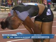 Stephenie Ann McPherson Wins Diamond League Trophy