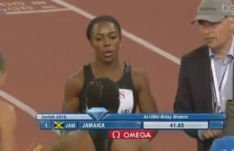 Jamaica Wins Women's 4x100m Relay at Zurich Diamond League