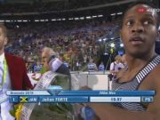 Julian Forte Wins 200m at Brussels Diamond League