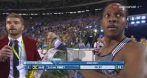 Julian Forte Wins 200m at Brussels Diamond League