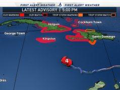 Matthew is still Category 4 Hurricane Headed for Jamaica