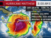 Category 4 Hurricane Matthew has made landfall in Haiti