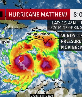 Powerful Category 4 Hurricane Matthew Is Moving Slowly Northward