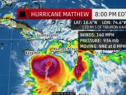 Hurricane Matthew Now Moving North, Northeast, Away From Jamaica
