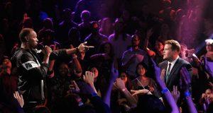 Watch Usain Bolt Destroy James Corden in a Rap Battle on Live TV