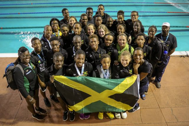 Jamaican win 30 medals at Carifta Swimming Championships