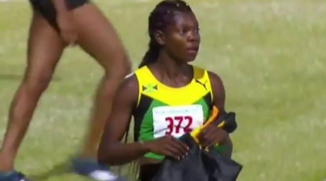 Jamaica's Girls' 4 x100m Under-18 Relay Team Disqualified