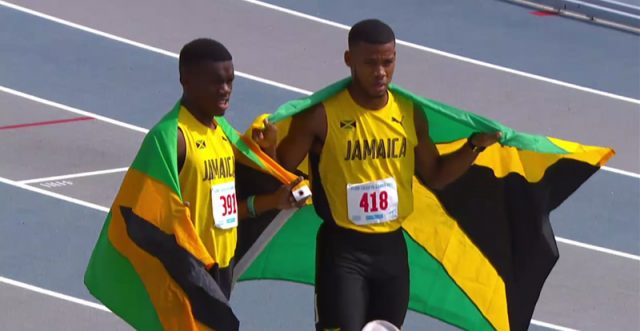 1-3 For Jamaica Boys' 110 Meter Hurdles U-20 at Carifta 2017