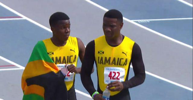 Michael Stephens wins GOLD in Boys' 200m U-18 at 2017 CARIFTA