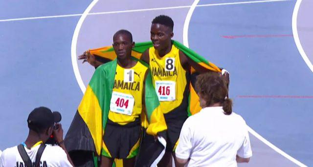 Jamaica win Gold + Silver in Boys' 3000m Run U-18 at 2017 Carifta Games
