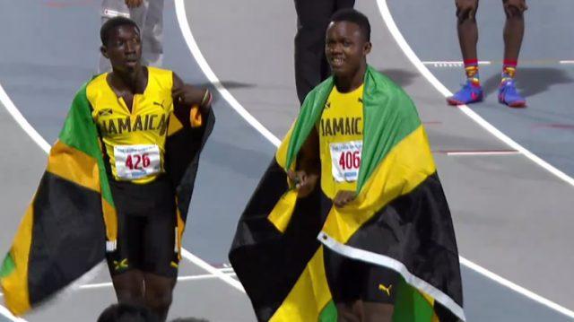 Gold, Silver for Jamaican Boys' 400 Meter U-18 at 2017 CARIFTA Games