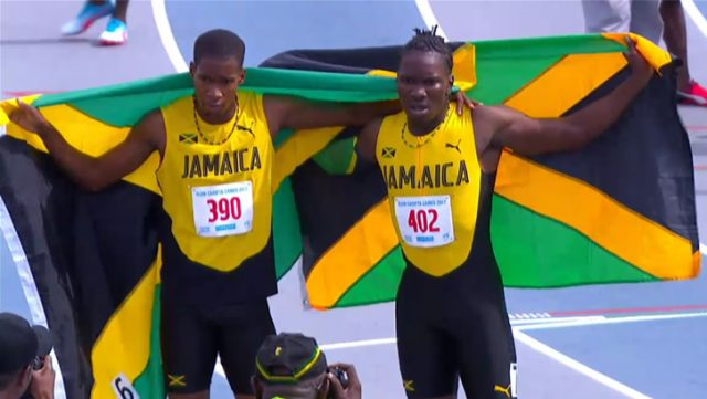 Ronaldo Griffiths won the Boys' 400m Hurdles U-20 gold medal for Jamaica