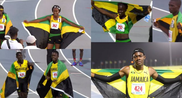 Jamaica Dominated Day 1 of 2017 Carifta Games with 28 Medals