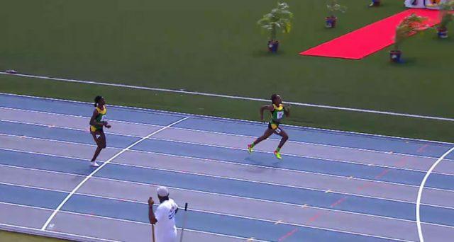1-2 for Jamaica in Girls' U-20 400m Hurdles at 2017 Carifta Games