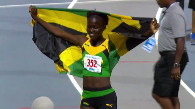 Junelle Bromfield Wins Gold Girls 400m U-20 #Carifta2017