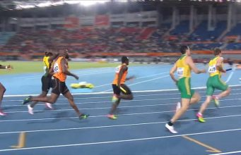 JA's Men's 4X200m relay team fails at World Relays
