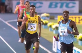 Men's 4X400m Relay Team Advances To World Relays Final