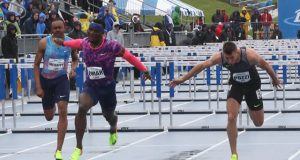 Omar McLeon sets new 110m Hurdles Record and world-leading time