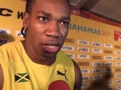 Yohan Blake furious after Men's 4x100m failure at World Relays