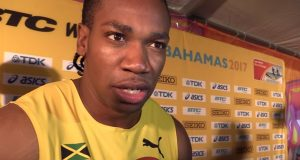 Yohan Blake furious after Men's 4x100m failure at World Relays