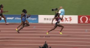 Elaine Thompson Wins 100m at Shanghai Diamond League