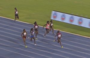 Elaine Thompson wins 200m at Jamaica International Invitational