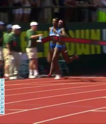 Elaine Thompson 3rd in 200m at Eugene Diamond League 🇯🇲