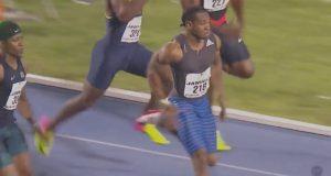 Yohan Blake wins 100m at Jamaica International Invitational