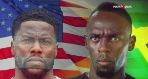 Usain Bolt vs Kevin Hart Face off in porker challenge